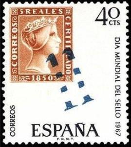 dia del sello 1967m